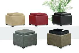 Ottomans With Trays Ottoman With Tray Coffee Table Ottoman Coffee Table Storage