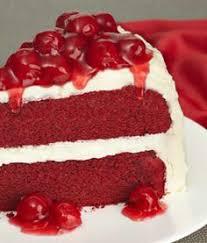 red velvet cake rudý samet recepty pečení řezy dorty