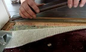 laminate carpet wood flooring threshold door bar trim