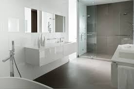 awesome white and grey bathroom wallpaper in grey 736x1187