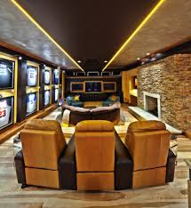 basement finishing method cleveland contemporary home theater