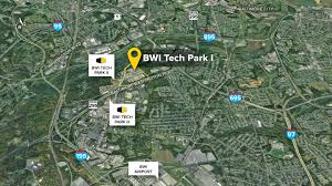 Bwi Airport Map Bwi Technology Park Linthicum Md Flex Office Space St John