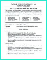Scientist Resume Data Scientist Resume Include Everything About Your Education