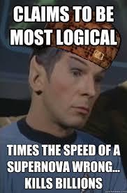 Spock Memes - logical spock meme