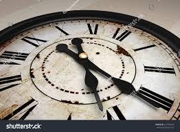3d design old strange antique clock stock illustration 227736478