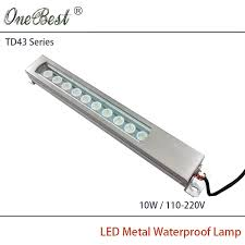 explosion proof led work light hntd 10w 110 220v td43 led metal panel light cnc machine tool