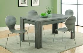 60 Inch Rectangular Dining Table Amazon Com Monarch Reclaimed Look Bentwood 4 Piece Dining Chair