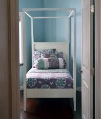ana white hannah canopy bed full size diy projects