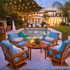 Edison Bulb Patio String Lights Commercial Decorative Outdoor Edison Globe Patio Vintage S14 E26