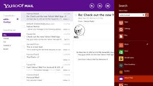 yahoo app for android on with the new yahoo mail app for windows 8 ios android