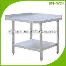 stainless steel corner work table stainless steel corner worktable buy commercial stainless steel