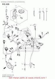suzuki dl650 vstrom 2007 k7 usa e03 wiring harness dl650k8 k9