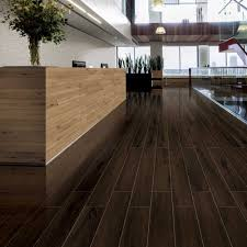 Black Wood Effect Laminate Flooring Polished Dark Walnut Wood Effect Tiles Lambent Polished Wood Tiles