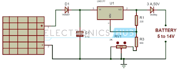 wiring diagram 5v solar battery charger circuit diagram wiring