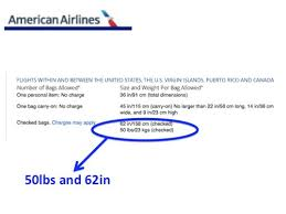 aa baggage fee what are the u s airline checked baggage limits memory point