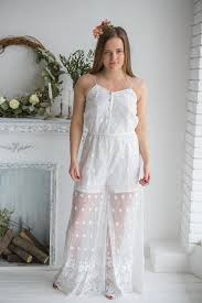 Wedding Dress Jumpsuit Rompers And Jumpsuits Bridal Rompers Robes By Silkandmore