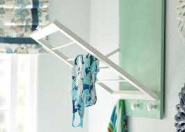 Drying Racks For Laundry Room - space saving racks adding eco accents to laundry room design