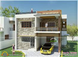 tamil nadu style 3d house elevation design 4 fancy house building