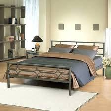 Metal Bed Frame No Boxspring Needed Metal Bed Frame Split Box California King Bed Frame No