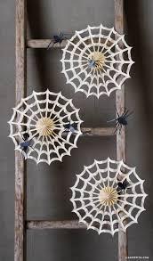 Halloween Cobweb Decorations Accordion Spider Web Decorations Lia Griffith