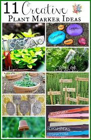 11 creative plant marker ideas a cultivated nest