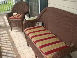 Vintage Rattan Patio Furniture - patio enchanting front patio furniture ideas red and brown