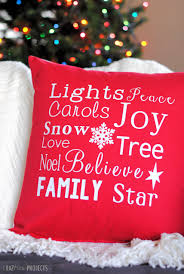 Domain Decorative Christmas Pillows by 25 Best Christmas Sewing Projects For The Holidays Crazy Little
