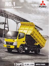 mitsubishi truck indonesia jual mitsubishi fuso diesel fe 71 fe 74 fe 84 bandung jawabarat