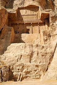 si e unesco royal of king artaxerxes i achaemenid burial site naqsh e