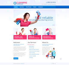 Window Cleaning Estimate Template by Website Template 45537 Cleaning Company Services Custom Website