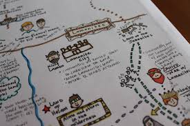 How To Make A Map Book Of Mosiah Book Of Mormon Map