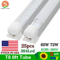 8 Foot Led Tube Lights Aliexpress Com Buy Sunway 8 Ft Led Tube Light 2 4m 8ft R17d V