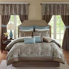 24 Piece Comforter Set Queen Madison Park Essentials Katarina Red 24 Piece Complete Bedroom Set