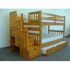 Bunk Bed With Trundle Fascinating 60 Bunk Beds With Stairs Decorating Design Of Top 25
