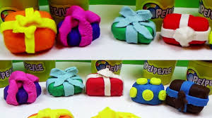 how to make play doh christmas gifts toys presents for kids