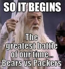 Bears Packers Meme - bears packer trash talking home facebook