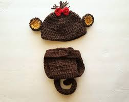 Monkey Halloween Costume Baby Baby Costume Etsy