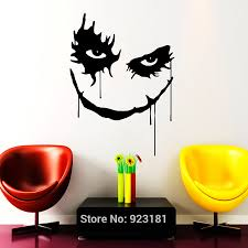 horror home decor wall sticker picture more detailed picture about joker horror