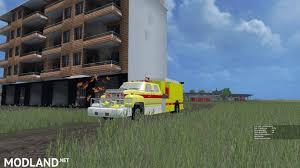minecraft truck ford f800 fire truck v 1 0 mod for farming simulator 2015 15