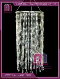 Cheap Plastic Chandelier Clear Beads Chandelier Acrylic Chandelier Pendant Lampshade