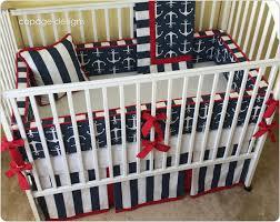 Nautical Crib Bedding Anchors Nautical Theme Sailor Baby Boy Crib Bedding Your
