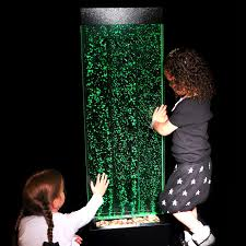 sensory bubble wall led colour change wall mounted
