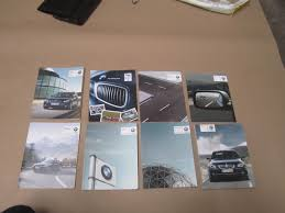 bmw e60 2008 535i owners manual book set oem esra motors