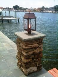 Gas Outdoor Lighting by Dining Room Interesting Outdoor Lighting Design With Bevolo Lighting