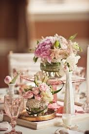 wedding centerpieces shabby chic