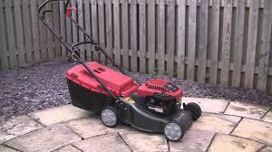 mountfield sp470 petrol lawnmower test review youtube