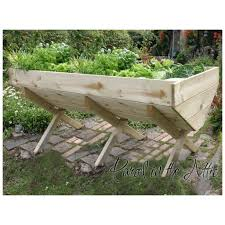 Lifestyle Garden Furniture Vegetable Trough 200cm Bed Parcel In The Attic Lifestyle