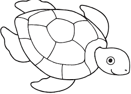 10 free printable cute sea turtle coloring pages