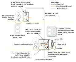 gfci outlet with light switch wiring diagram gfci receptacle light switch to outlet diagrams for