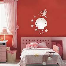 chambre fee décoration chambre fille préparer la chambre de bébé stickers